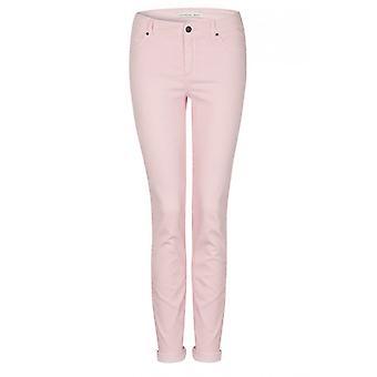 Oui Pale Pink Baxtor Jeans
