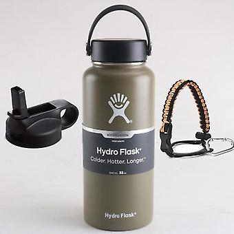 Hydro Flask Stainless Steel Water Bottle Vacuum Insulated Wide Mouth Hydro