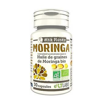 Organic Moringa Oil 30 capsules
