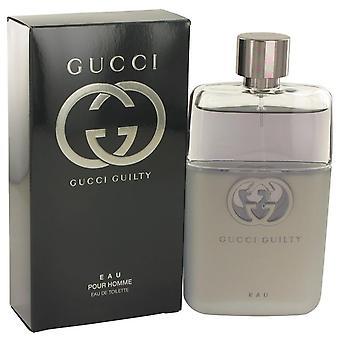 Gucci Guilty Eau Eau De Toilette Spray door Gucci 3 oz Eau De Toilette Spray
