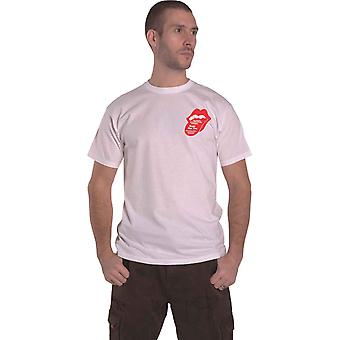Rolling Stones T Shirt Goat Head Soup Tracklist Officiell Mens White