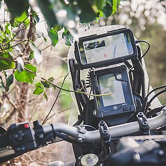 Adventure bike waterproof sony universal tough case crossbar mount