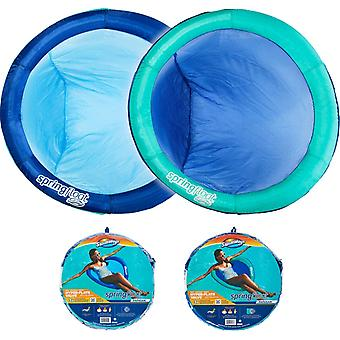 Swimways Spring Float Papasan Inflatable Pool Lounger with Hyper-Flate Valve 1 Supplied