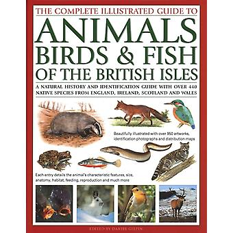 The Animals Birds  Fish of British Isles Complete Illustrated Guide to by Edited by Daniel Gilpin