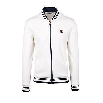Fila Vintage Settanta Baseball Track Jacket White