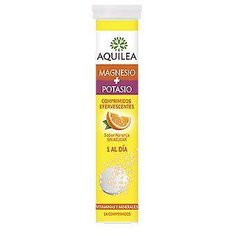 Aquilea Magnesio + Potasio Efervescentes 14 Tablets