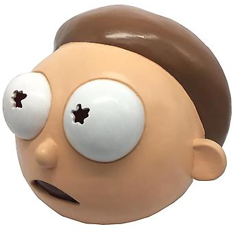 Professor Rick And Morty Latex Mask Headgear Halloween Party Cosplay Props