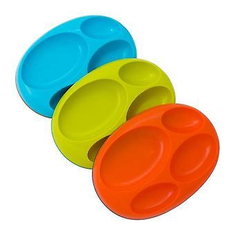 Bean Non-Slip Pockets Plates Platter