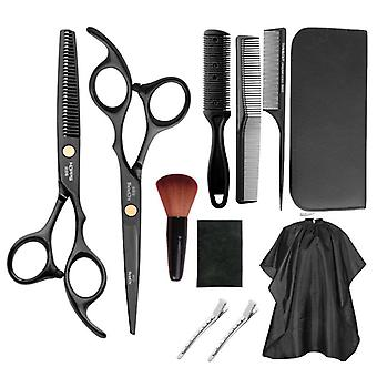 Haircut scissors straight snips thinning hairdressing barber tools lf20