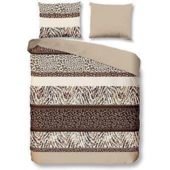 bed cover Safari 155x220 cm cotton brown