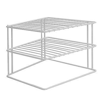 2 Tier Cupboard Corner Shelf | M&W