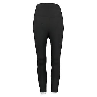 MIND BODY LOVE by Peace Love World Petite Leggings Ruched Black A380144