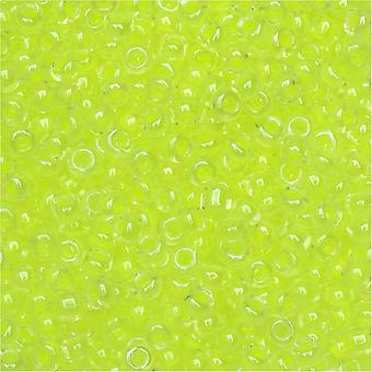 Miyuki Pyöreä Siemenet Helmiä, 11/0, 8.5 Gram Tube, #1119 Valoisa Limeade