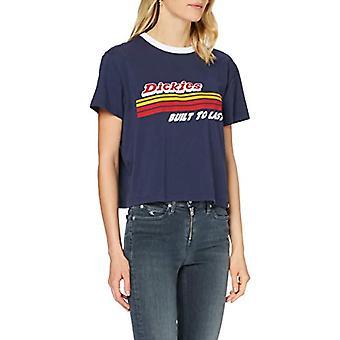 Dickies Cadwell Camiseta, Azul (Navy NVX), 46 (Talla Única: Grande) Mujer