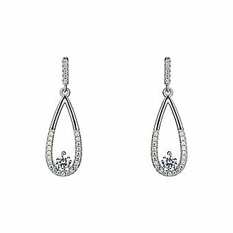 Sirius - Sparkling Drop - Icons Earrings - Silver - Jewellery Gifts for Women from Lu Bella
