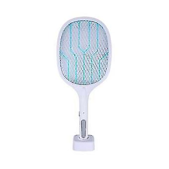 Usb rechargeable mosquito killer racket with 3layer safety mesh x1642