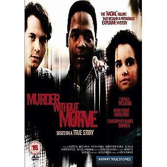 Mord ohne Motiv DVD