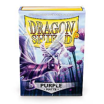 Dragon Shield Standardní matně fialové pouzdra na karty - 60 rukávů