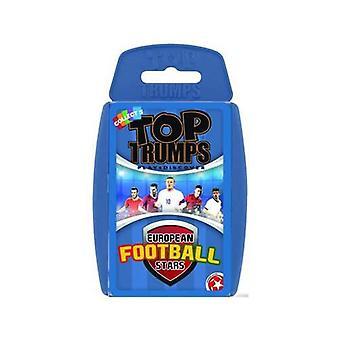 Euron fotbollsstjärnor Top Trumps