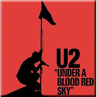 U2 - Under a Blood Red Sky Fridge Magnet