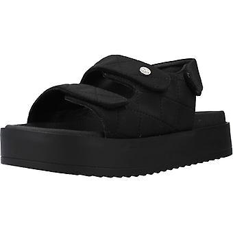 Sandales jaunes Couleur noire de noix de coco