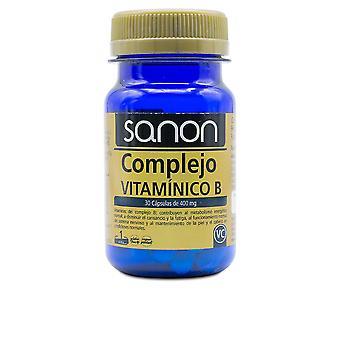 Sanon Sanon Complejo Vitamínico B 30 Cápsulas De 400 Mg Unisexe
