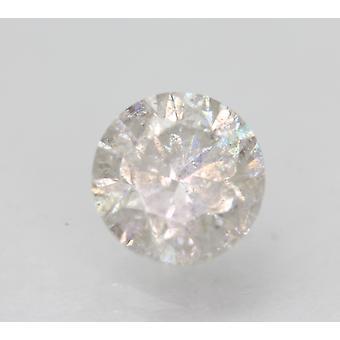 Certificado 1.22 Quilates G SI3 Rodada Brilhante Diamante Natural Aprimorado 6.56mm 3VG