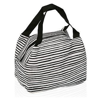 Lunchbox Black Line Polyester (15 x 18,5 x 24 cm)
