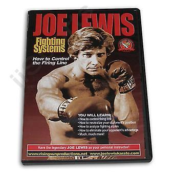 Joe Lewis Fighting Control Firing Line Dvd -Vd6773A