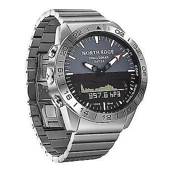 Умные часы мужчины спорт цифровые аналоговые часы дайвинг часы
