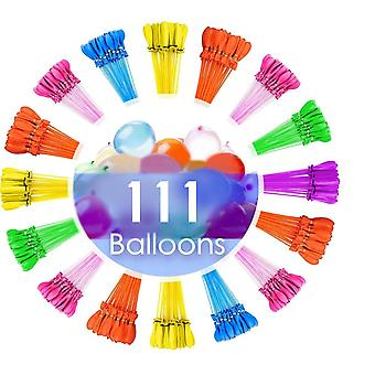 111pcs Water Balloons For Kids Girls Boys Balloons Set Party Games Quick Fill