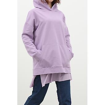 Kangaroo Pocket Hooded Basic Sweatshirt
