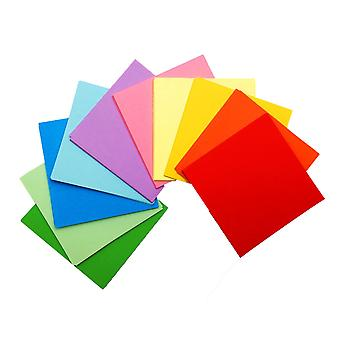 50 Sheets of 6 Inch (150mm) Assorted Coloured Origami Paper