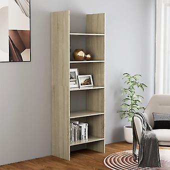 vidaXL Bibliothèques Sonoma-Chêne 60x35x180 cm Panneau de particules
