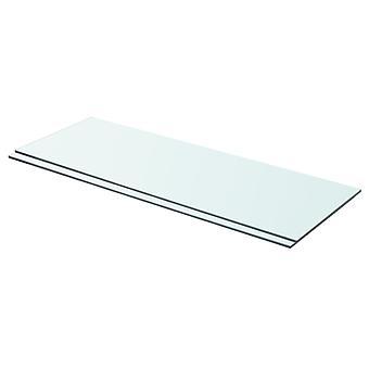 vidaXL hyllyt 2 kpl. lasi Läpinäkyvä 70 x 25 cm