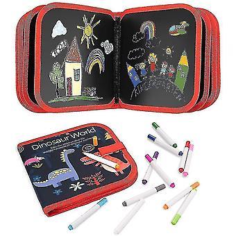 لوحة الرسم للأطفال قابلة للمحو لوحة كتاب خربش للبنات الفتيان