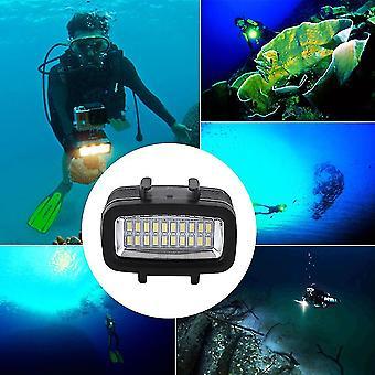 30m étanche sous-marine Vidéo Lumière Caméra Plongée Lampe adaptée à Gopro
