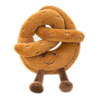 Cute Bread Series Peluche Bambola Pendente Creative Simulation Biscuit Croissant Grab Machine(GROUP2)