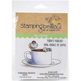 Stamping Bella Cling Stamps - Swimmer Gnomes