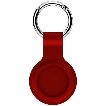 For Apple Airtag Silicone Case Cover Keychain Sleeve Shell .