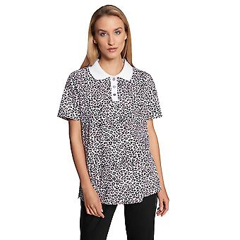 Féraud Casual Chic 3211055-15648 Women's Modern Leo Cotton Loungewear Top