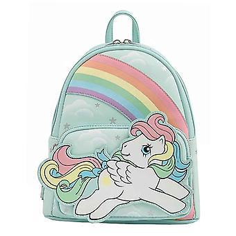 Loungefly Mini Ryggsäck My Little Pony Starshine Rainbow ny Officiell Blå