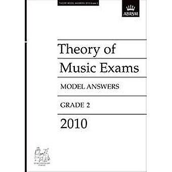 ABRSM Theorie Examens Model Antwoorden Graad 2 (2010)