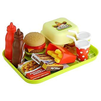 Speelgoed eten - Fastfood en Wafel set