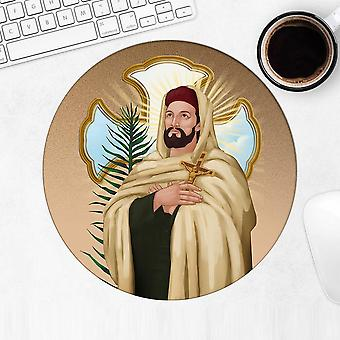 Gift Mousepad: Saint John De Britto Catholic