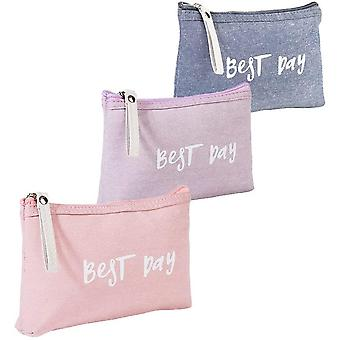 Cotton Small Cosmetic Bag For Women