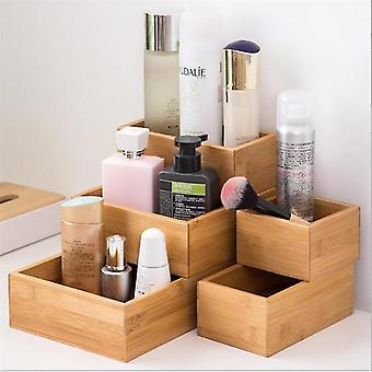 5 stuk Scandinavische stijl geïnspireerd eco vriendelijke bamboe multifunctionele huishouden en make-up