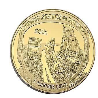 Pièce commémorative plaquée or Pièce d'artisanat Pièce d'or Empreinte Pièce d'or Pièce de monnaie Médaille commémorative