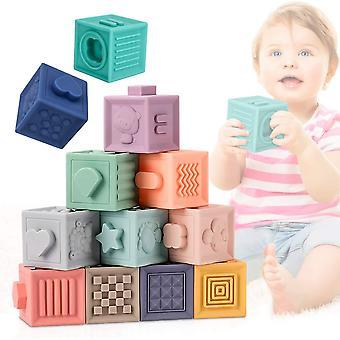 Leksakssats för silikonblock