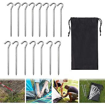 Tent Pile, Fixed Floor, Suitable For Camping And Picnic Sunshading (15 Pieces)